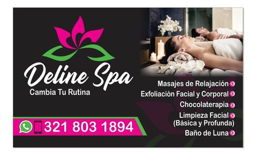deline spa, masajes relajantes a domicilio