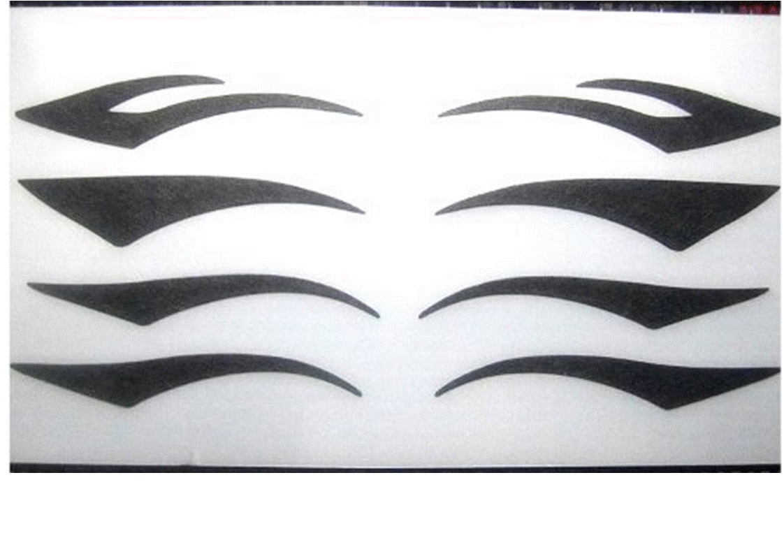 Armario Multiuso Para Lavanderia ~ Delineador Adesivo Tatuagem Temporária Para Olhos R