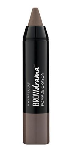 delineador de cejas brown drama pomade crayon maybelline