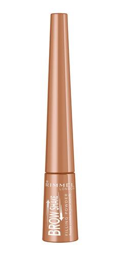 delineador de cejas rimmel brow shake 002 medium brown