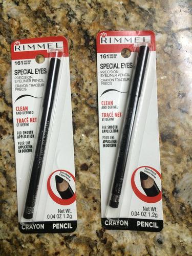 delineador de ojos negro marca rimmel 100% nuevo. importado.