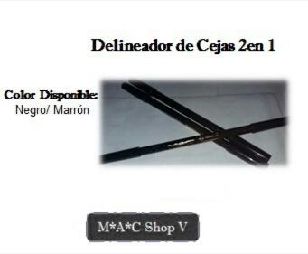Delineador De Ojos Y Cejas Mac Retractil Y Lapiz Bs 0 01 En