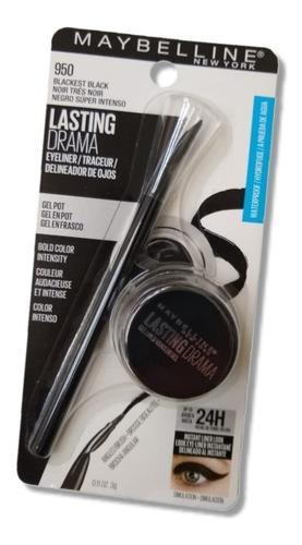 delineador gel maybelline lasting drama waterproof negro