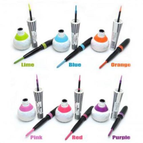 delineador y lápiz de ojos neón fluo eyeliner glow
