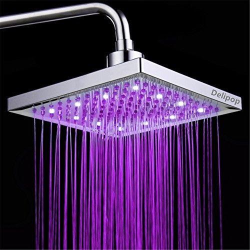 delipop hn11 led cabezal de ducha temperatura 3 colores que