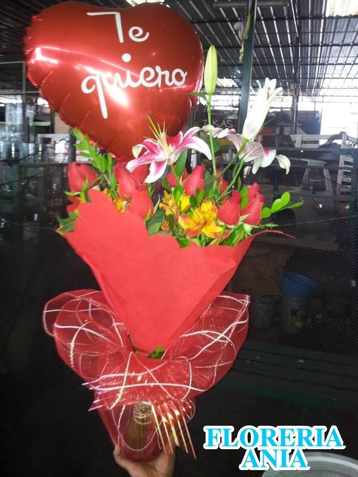 Delivery De Flores En Lima Arreglo Floral Rosas