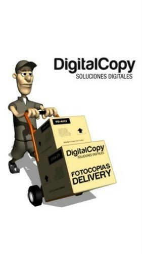 delivery de fotocopias- impresiones $0.25! el mejor precio!