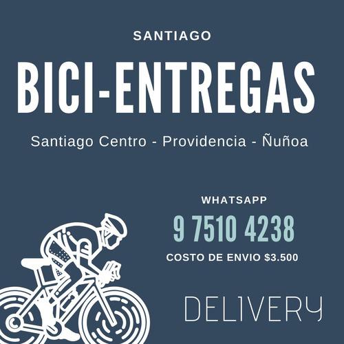 delivery en bicicleta entrega inmediata
