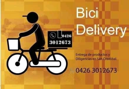 delivery y diligencias en bicicleta para san cristóbal