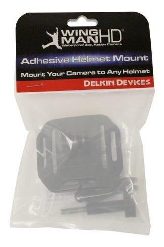 delkin ddwingadh calcomania soporte de casco para camara win
