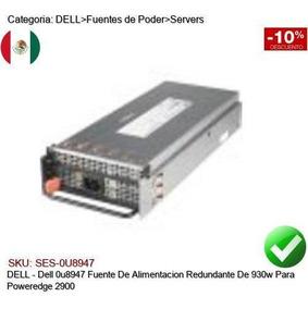 2900 Redundante Dell Poweredge 930w Fuente 0u8947