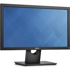 dell e2016h monitor 19.5 w vga & dp ports, fixed