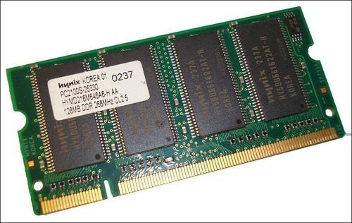 dell inspiron 5100 256mb(2x128mb) kit pc2100s 266mhz ddr 200