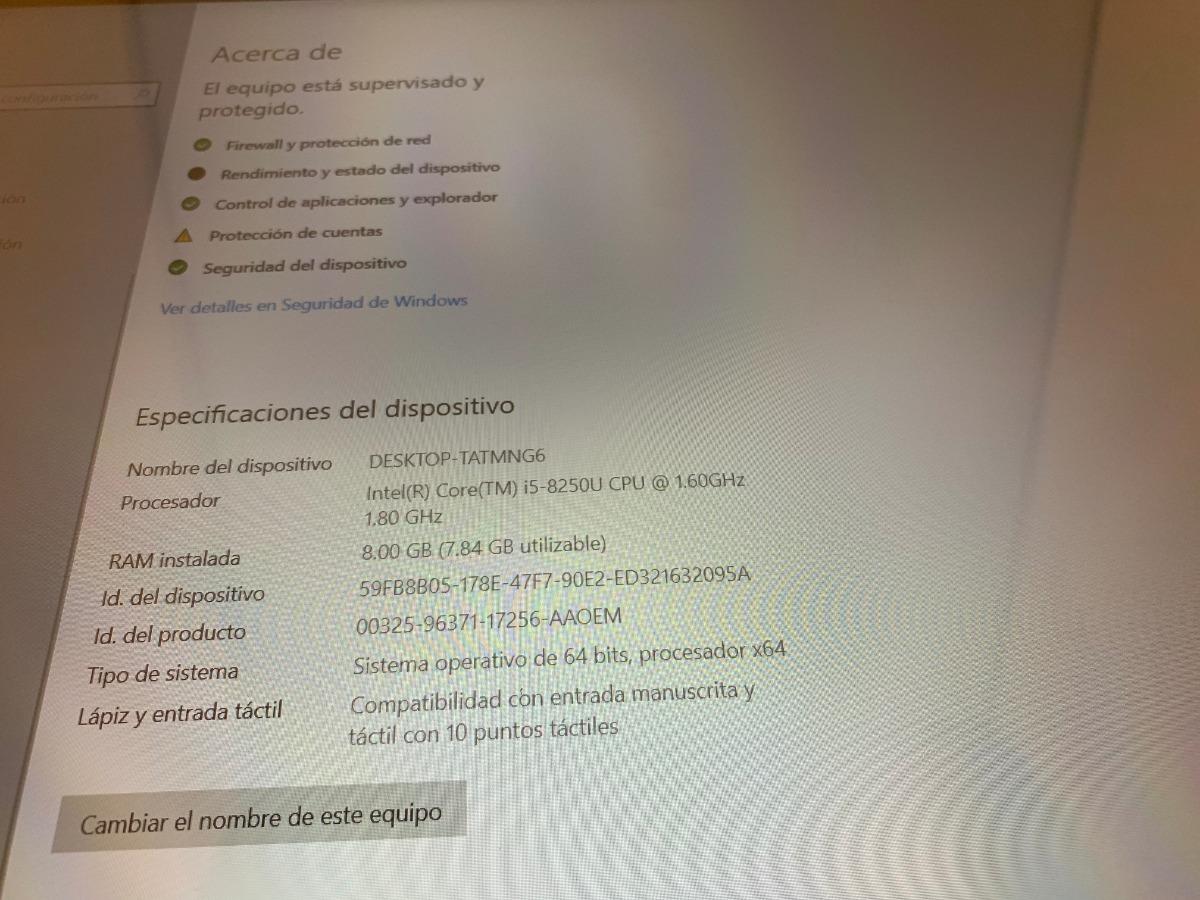Dell Inspiron 7573 2 En 1 Intel I5-8250u 8gb 512ssd Fhd 15 6 - $ 12,499 00