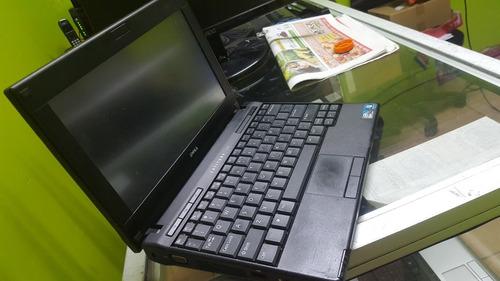 dell mini laptop pantalla tuch 250 disco y 2 ram