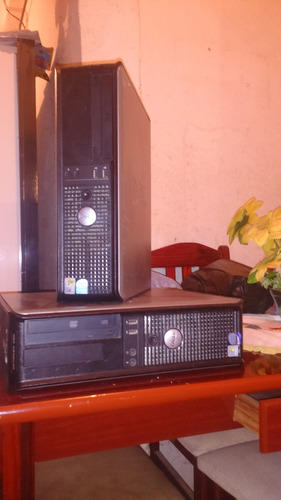dell optiplex 360 core 2 duo 2,80ghz - 2g ram -hd 160gb dvd