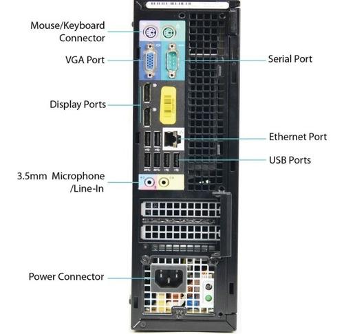 dell optiplex 7010 core i5 3470 de 3,2 ghz, 4gb y 500 gb