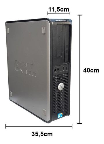 dell optiplex 780 core 2 duo 3.0  4gb ddr3 hd 250gb