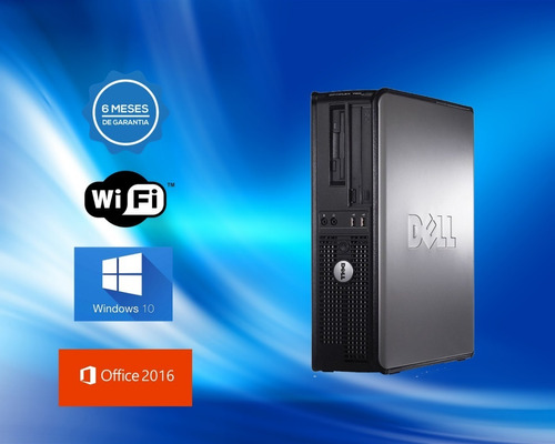 dell optiplex core2duo  4gb ddr3  hd 250gb dvd wifi
