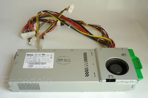 dell optiplex - fonte 210w (pn: 0t0259)-modelo: nps210ab a