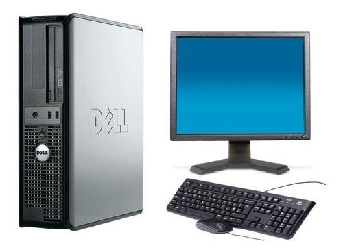 dell optplex 360 core 2 duo e7300 /4 gb ram/hd 250 gb/ dvd