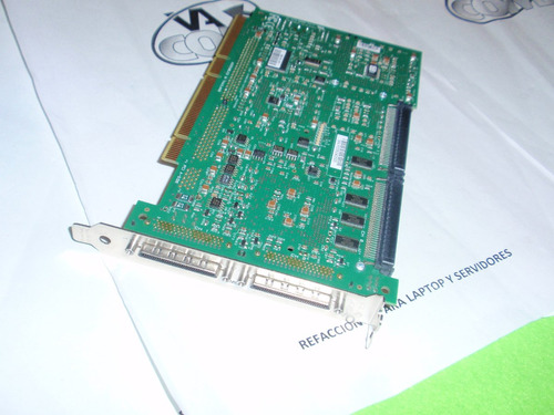 dell perc 3/dc dual channel u160 lvd scsi raid controller b