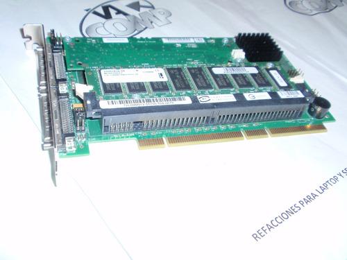 dell perc 3/dc dual channel u160 lvd scsi raid controller, b