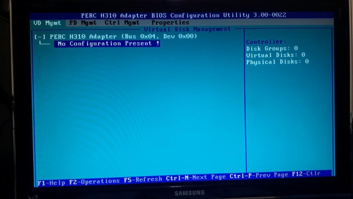Dell Perc H310 Sata Sas Ssd 6gbps Pci Express Raid 0hv52w - $ 8 000,00