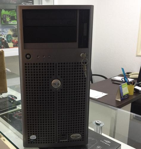 dell poweredge 1800 windows 7 pro 64 2 xeon hd ssd 250gb 4gb ram em até 12x sem juros frete grátis + garantia e nf