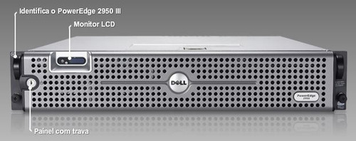 dell poweredge 2950 g3 xeon quad - 2 x sas 300gb - 16gb fb