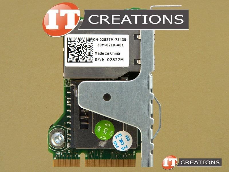 Dell Poweredge R420 R520 R620 R720 Idrac 7 Enterprise 02827m