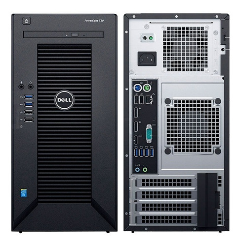 dell poweredge t30 dell mini torre intel xeon e3-1225v5 3.3g