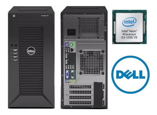 dell poweredge t30 dell mini torre intel xeon e3-1225v5 icb