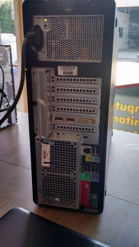 dell precision t5500  procesador de 8 nucleos 12 de ram 1 tb