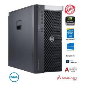Dell Precision T7600  Intel Octacore Ssd 920gb Nvidia Quadro