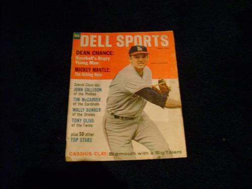 dell sport may  1965 revista baseball dean chance