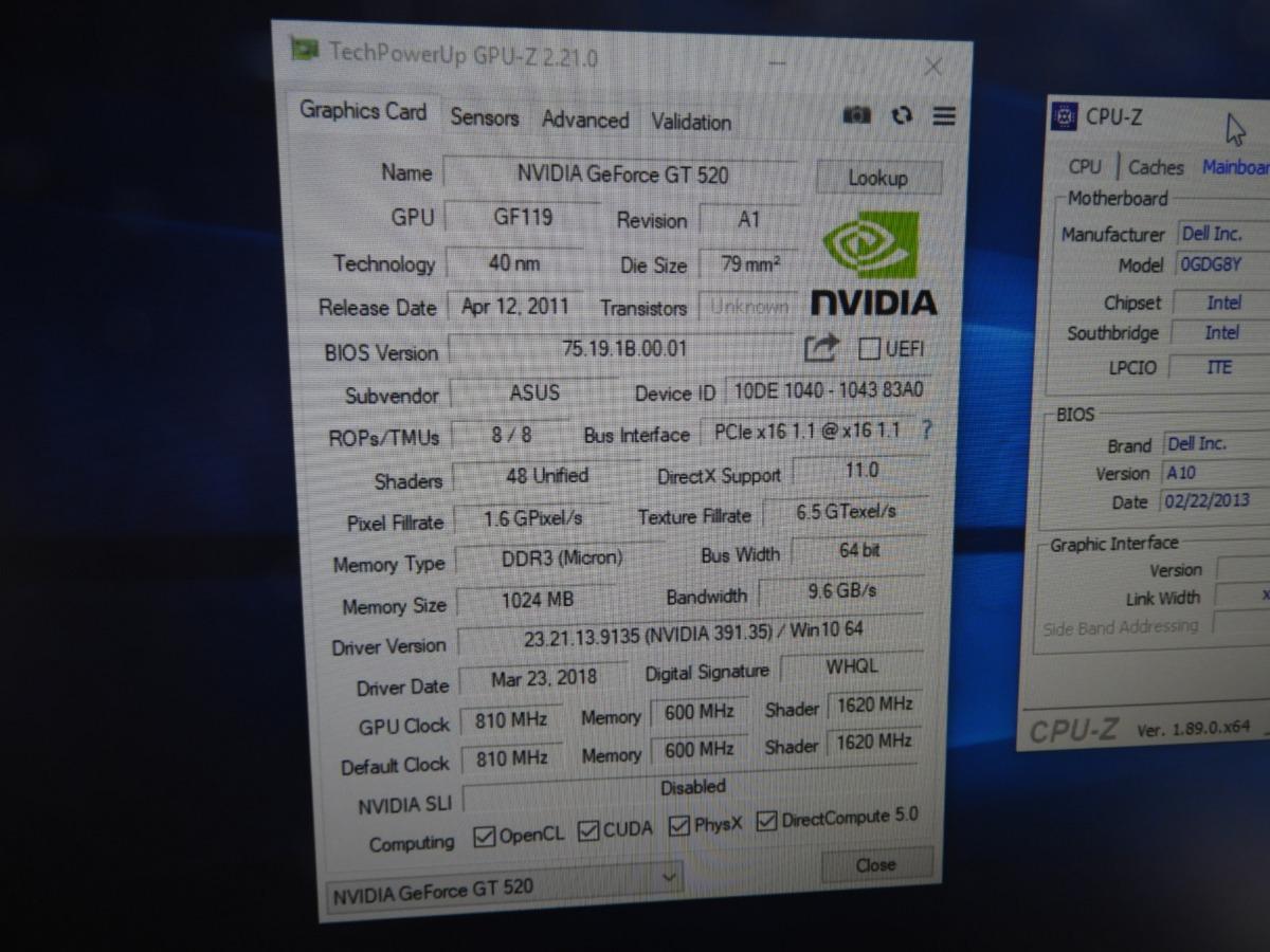 Dell Vostro 260s - Xeon E3 1270 3,40ghz + Gt 520 1gb - 8gb