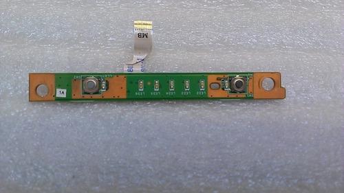 dell xps m1530 controladora de botones de encendido