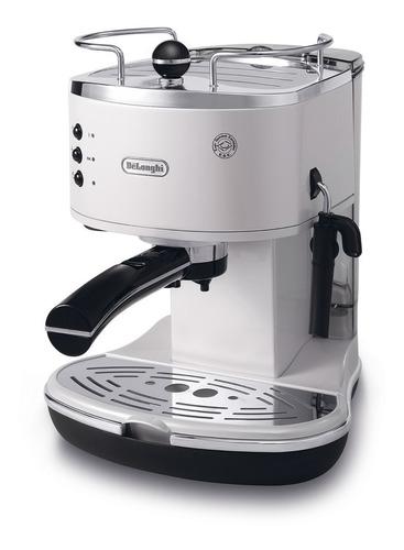 delonghi cafetera espresso icona  - blanco eco310.w