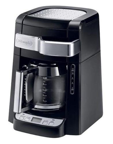 delonghi - cafetera para 12 tazas - negro