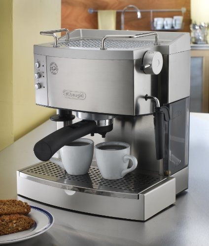 delonghi ec702 15-bar-bomba fabricante de café espresso, a