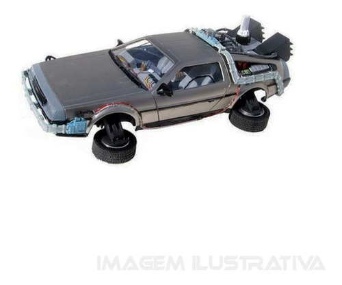 delorean back to the future ii mark ii polar lights pol925/1