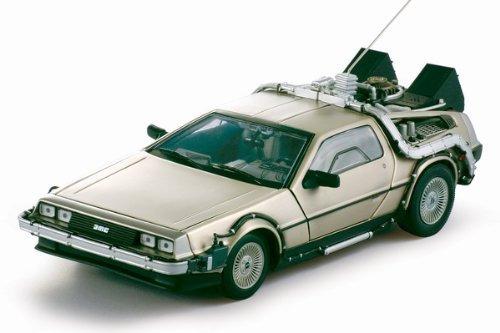 delorean diecast model 118 regreso al futuro i die cast auto