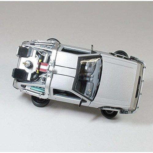 delorean dmc 12 flying version diecast model car de back to