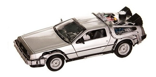 delorean time machine back to the future welly
