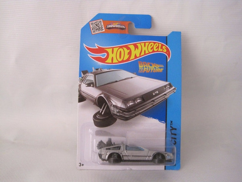 delorean time machine hover mode hotwheels back future 1/64