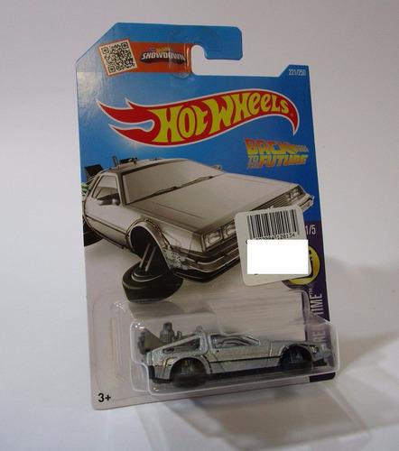 delorean volver futuro escala 1/64 coleccion 7cm hot wheels