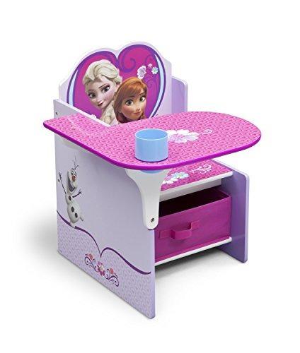 delta children cadeira secretária com armazenamento bin, da