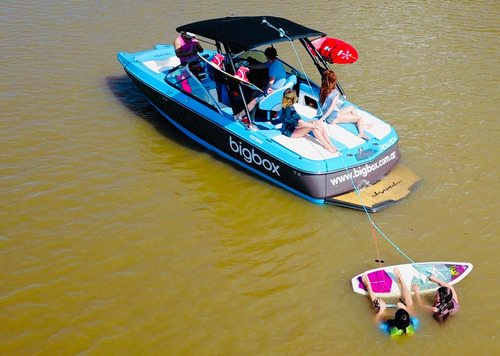 delta day loop almuerzo wakeboard wakesurf lancha skywawake