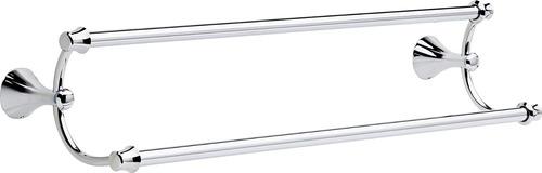 delta grifo 79225 addison doble bar toalla doble 24 -inch, c